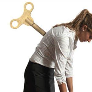 Agotamiento, estrés laboral